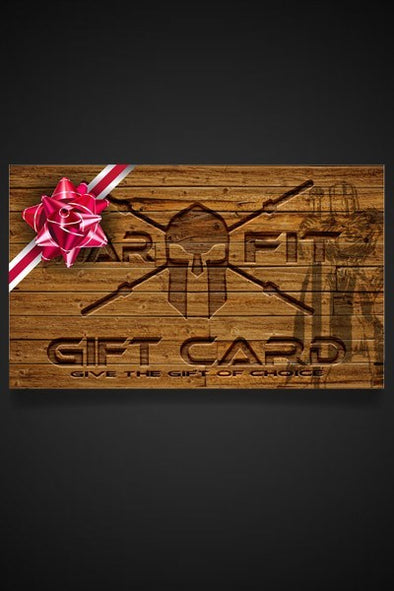 The Warrior's Gift Card - WARFIT CLOTHING CO.™ - 3