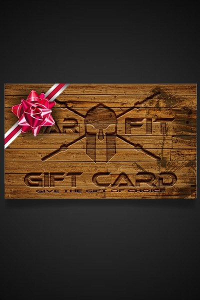 The Warrior's Gift Card - WARFIT CLOTHING CO.™ - 4