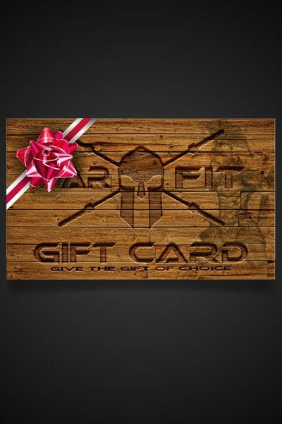 The Warrior's Gift Card - WARFIT CLOTHING CO.™ - 5