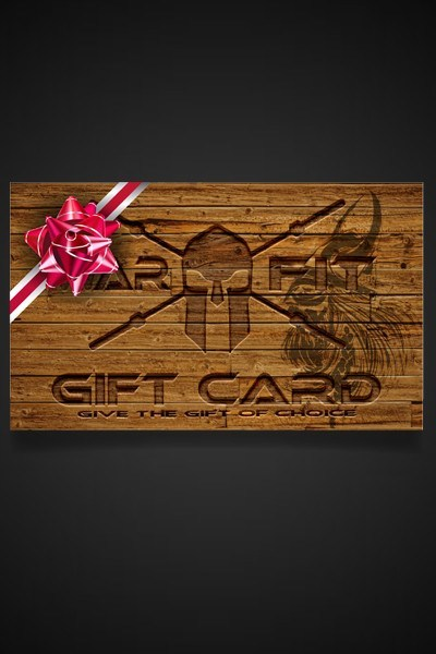 The Warrior's Gift Card - WARFIT CLOTHING CO.™ - 6