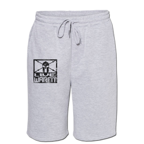 Live Warfit Fleece Shorts - Heather Grey