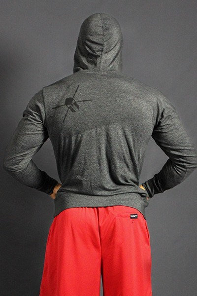 Premium Laced Strength & Passion Hooded Pullover - WARFIT CLOTHING CO.™ - 3