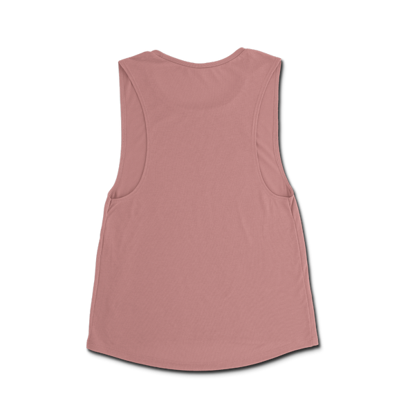 Ladie's Property Of Muscle Tee - Mauve