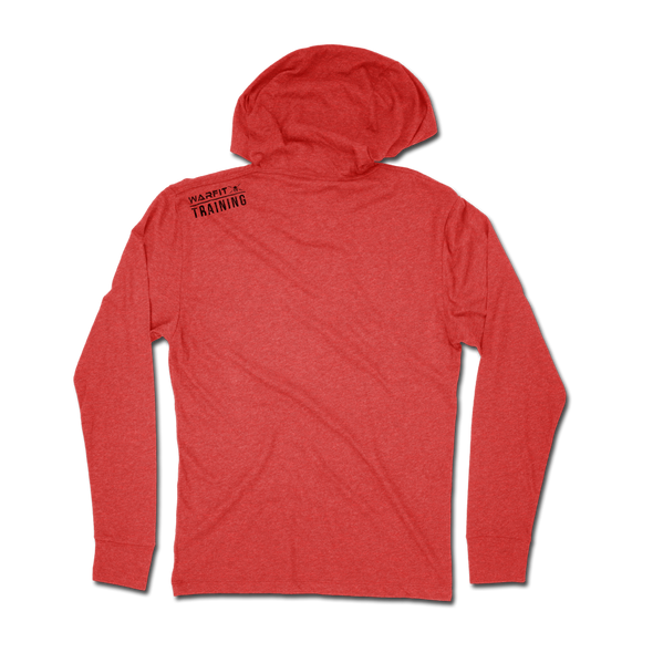 Logo Jersey Hoodie - Red