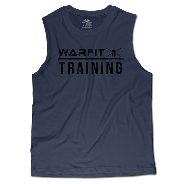 Training Muscle Tee - Navy