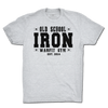 Old School Iron Tee