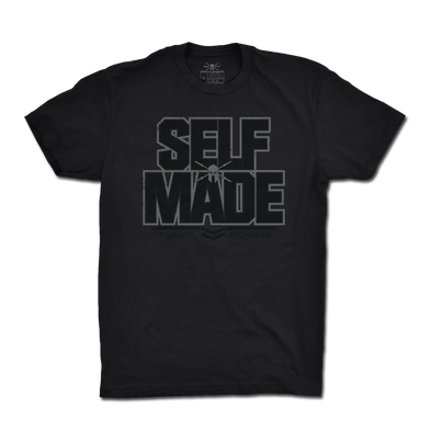 Self Made Tee - Black