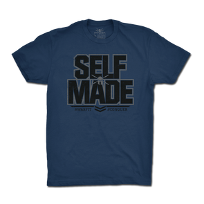 Self Made Tee - Blue
