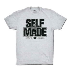 Self Made Tee - Heather Grey