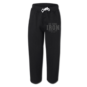 Iron Sweatpants - Black