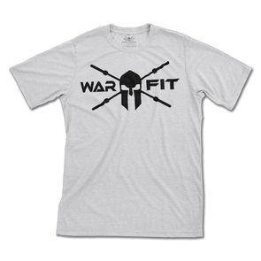 Heather Grey #TEAMWARFIT Tee