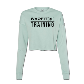Training Cropped Crew Fleece