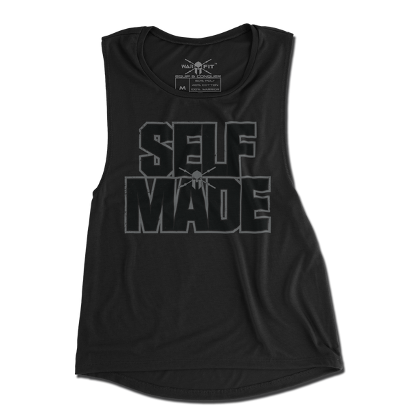 Self Made Ladie's Muscle Tee