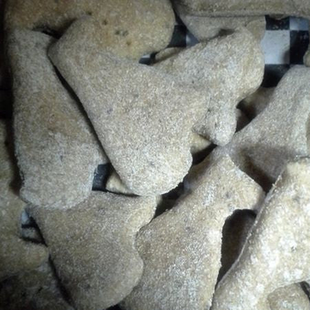 chicken chia dog treats
