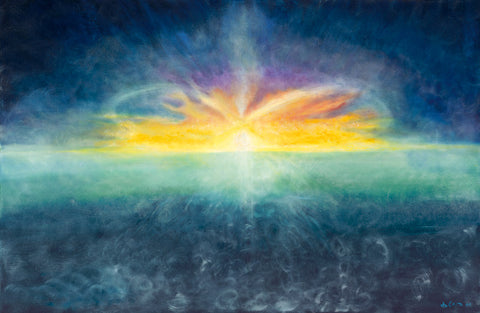 """The Gift of a New Day"" - Universe Series  48 x72"