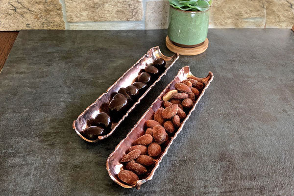 Copper Tidbit Trays