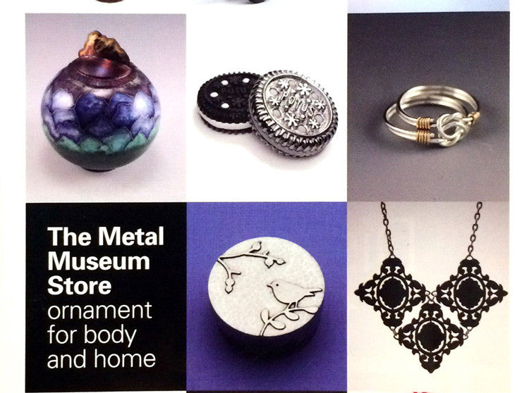 Ring from Kingfisher Designs on Metal Museum Catalog