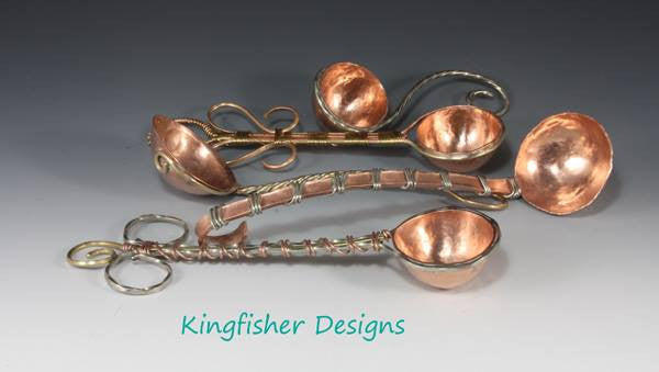 A collection of small ladles from Kingfisher Designs