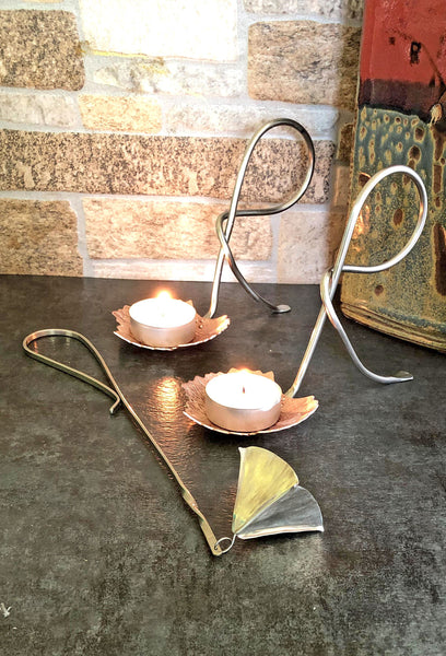 Candle Snuffer with Silver Handle