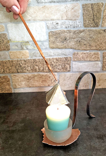 Candle Snuffer with Copper Handle