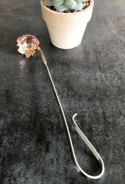 copper olive ladle