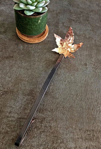 copper pasta fork