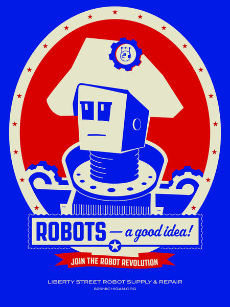 Robot Revolution Poster: A Good Idea!