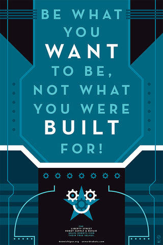 Be What You Want to Be Poster