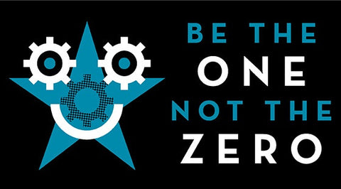 Be the One Not the Zero Sticker