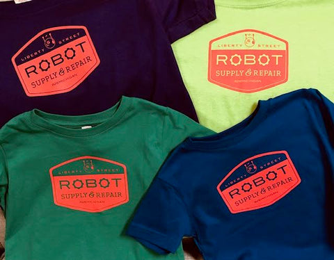 Liberty Street Robot Supply & Repair Logo - Toddler & Youth T-shirt