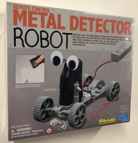Metal Detector Robot Kit