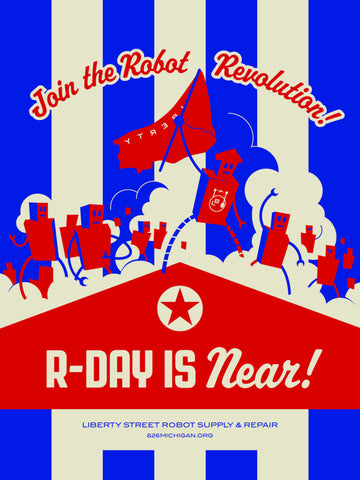 Robot Revolution Poster: R-Day is Near!