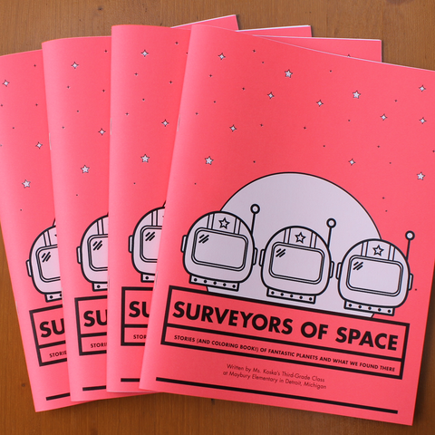 Surveyors Of Space - Coloring Book
