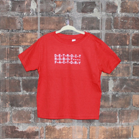 Detroit Robot Factory Logo Toddler & Youth T-shirt