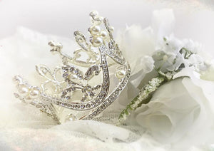 Diana Rhinestone Crown | Ready To Ship | FREE SHIPPING