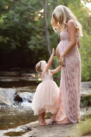 Valerie Gown-Maternity Gown-Sew Trendy Accessories