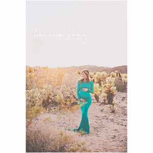 Krysten Gown-Maternity Gown-Sew Trendy Accessories