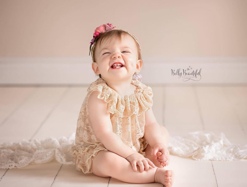 Stella Infant Gown-newborn dress-Sew Trendy Accessories