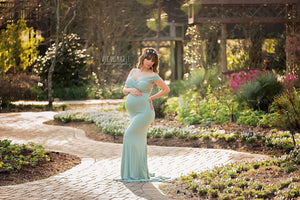 Vera Gown-Maternity Gown-Sew Trendy Accessories