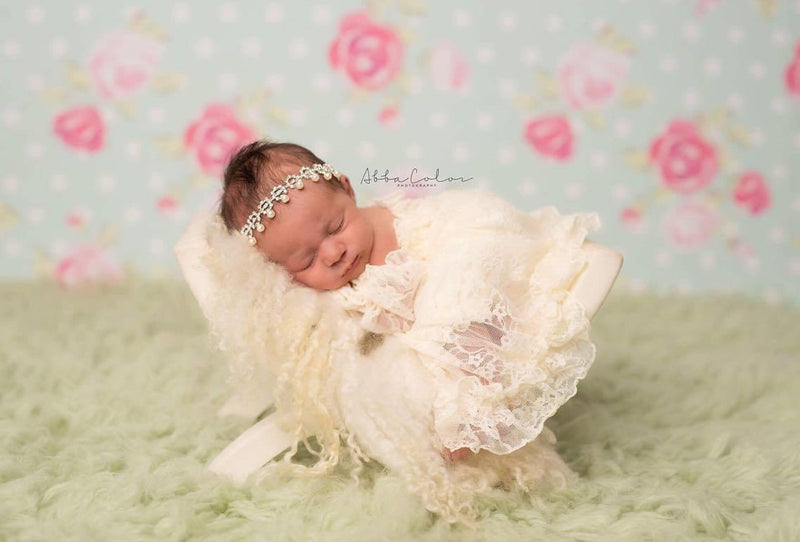 Violet Gown-newborn dress-Sew Trendy Accessories