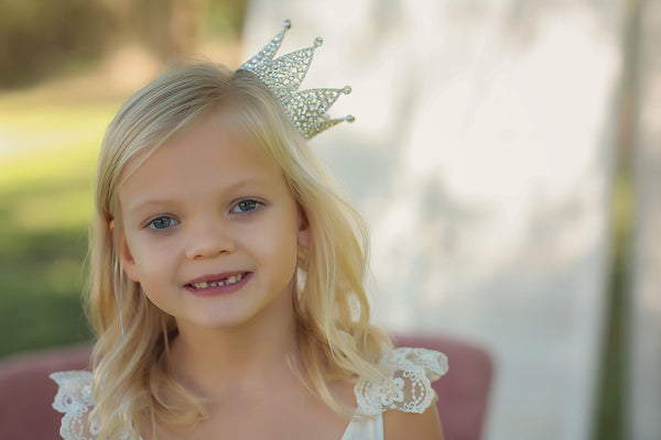 Esmerelda Rhinestone Crown • Princess Crown • Photo Prop  | READY TO SHIP • by Sew Trendy
