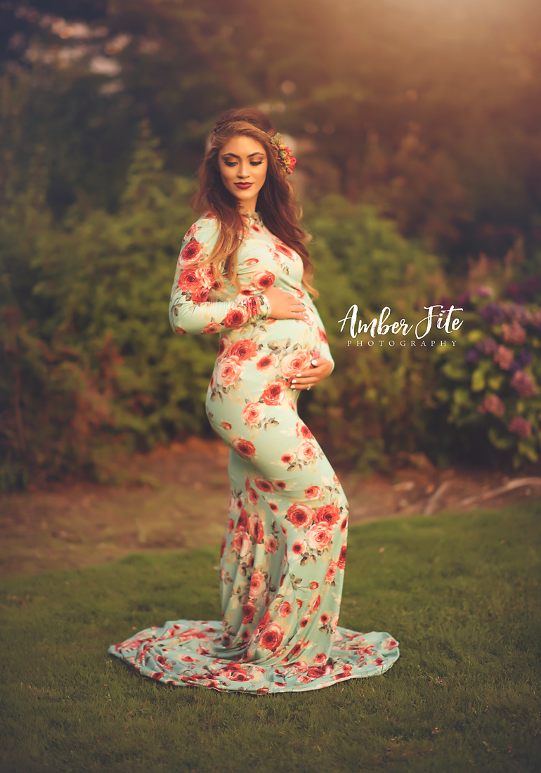 RTS | Floral Krysten Gown | Ready to Ship