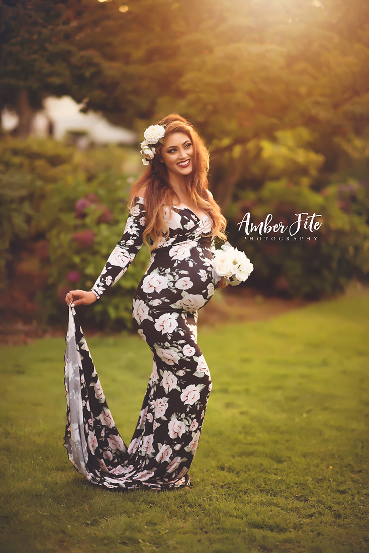 Emerlie Gown in Floral Print