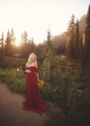 Aspen Gown-Maternity Gown-Sew Trendy Accessories