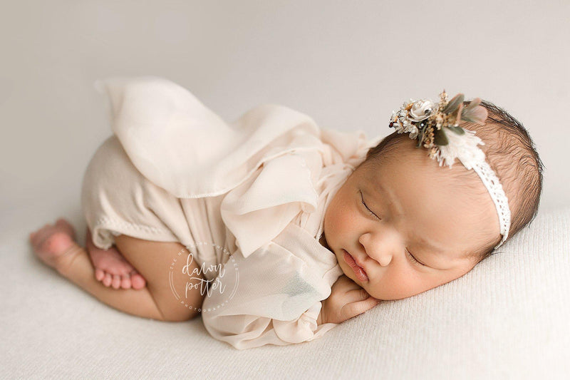 Faye Romper-newborn dress-Sew Trendy Accessories
