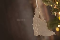 Maternity Christmas Ornament • A Beautiful Time