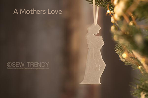 Maternity Christmas Ornament • A Mother's Love