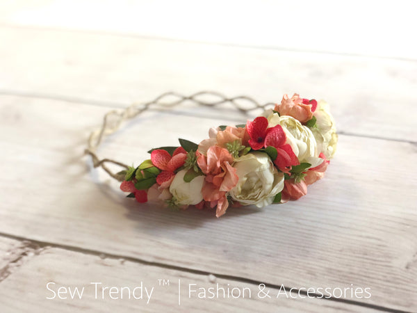 Betty Flower Crown | Seasonal | Ready To Ship