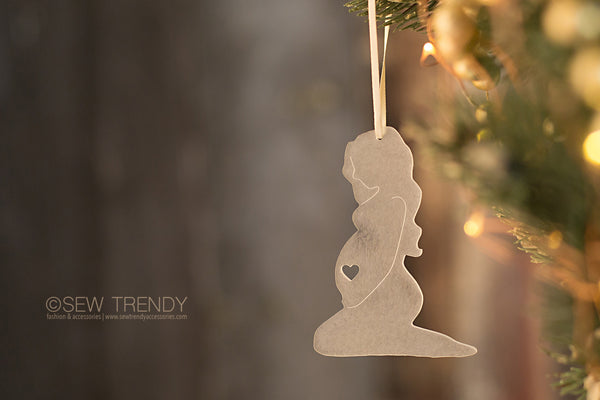 Maternity Christmas Ornament • Can't Wait To Hold You