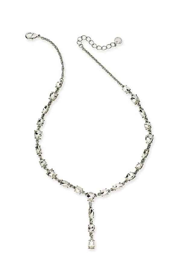 Charter Club Silver Y Necklace